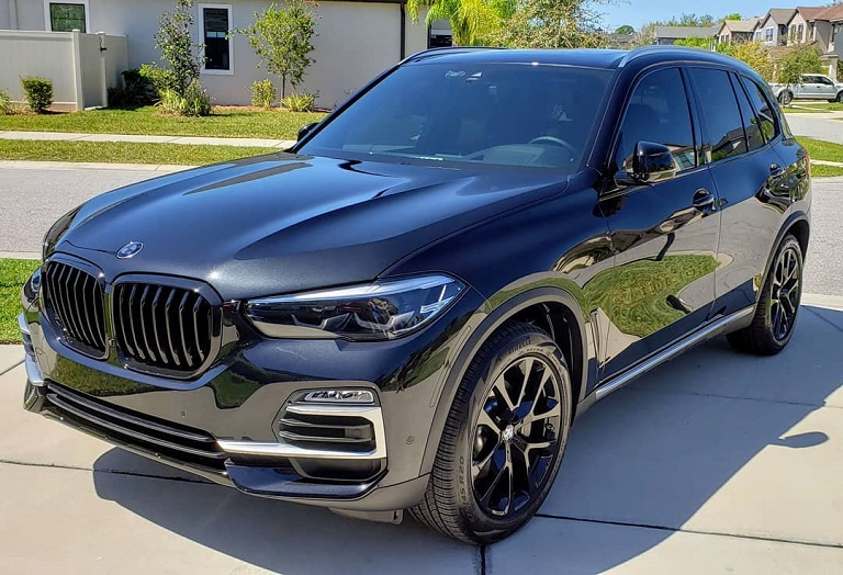 BMX.X5.New.Vehicle.Ceramic.Coating.ClearBraPPFTampaBayDetailing